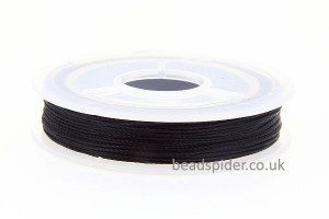 Black Polyester Thread