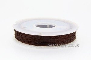 Rich Brown Polyester Thread
