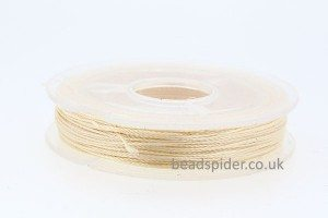 Cream Polyester Thread
