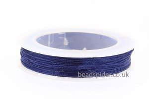 Navy Blue Polyester Thread