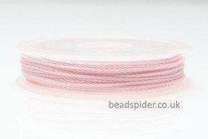 Soft Pink Polyester Thread