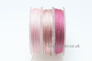 Pink Colours Polyester Thread Pack
