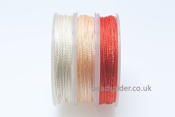 Red - Ivory Colours Polyester Thread Pack