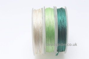 Ivory - Emerald Colours Polyester Thread Pack