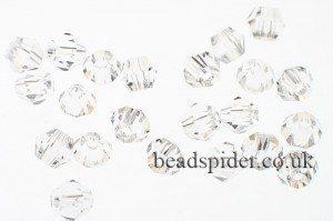 CBI601 Crystal Bi-cone  x 25