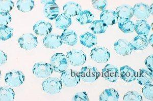 CBI603 Ice Blue Bi-cone  x 25