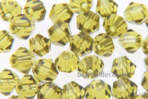 CBI426 Olivine Bi-cone  x 50