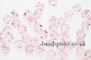 CBI628 Carnation Pink Bi-cone  x 25