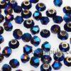 CBI347 Metalic Blue Bi-cone  x 45