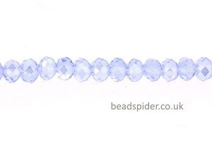 Dusty Blue Crystal Donut