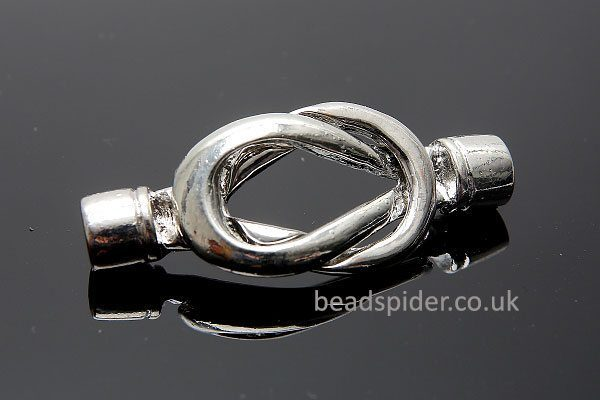 Magnetic Knot Cord End Clasp