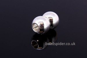 Magnetic 2 Ball Cord End Clasp