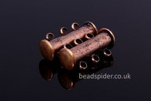 Magnetic 3 Strand Barrel Clasp