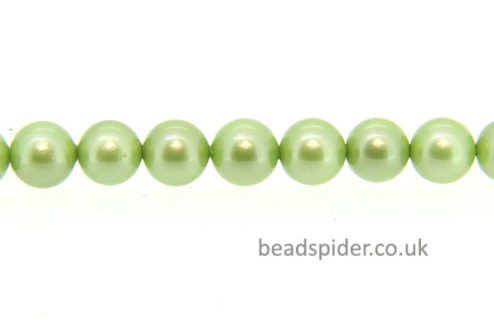 Lime Green Mother of Pearl