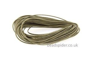 Olive Green Smooth n Slinky Cord