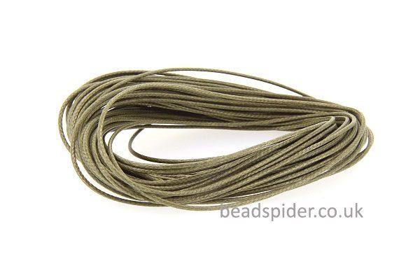 Olive Green Smooth n Slinky Cord