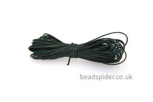 Forest Green Smooth n Slinky Cord