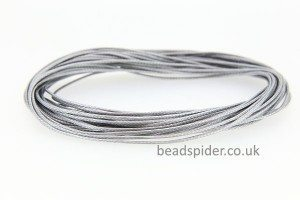 Silver Grey Smooth n Slinky Cord