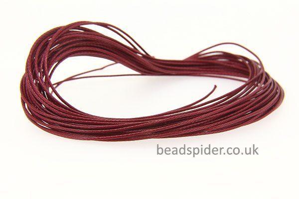 Burgundy Smooth n Slinky Cord