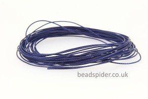 Navy Blue Smooth n Slinky Cord
