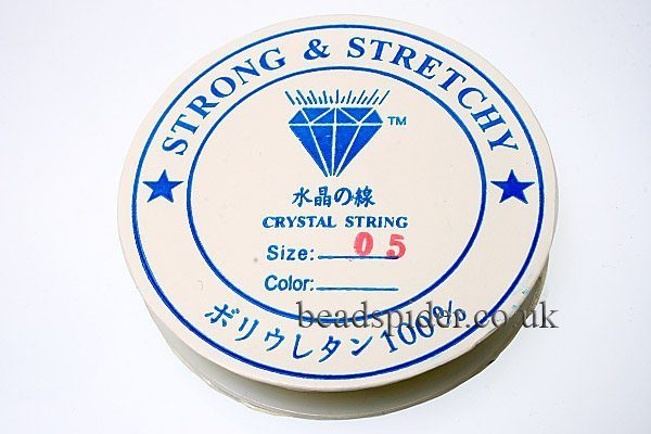 0.5mm Strong and Stretchy Beading Elastic