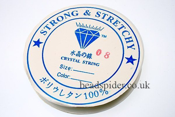 0.8mm Strong and Stretchy Beading Elastic