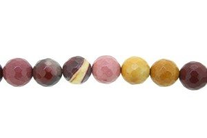 Mookaite Facetted Rounds