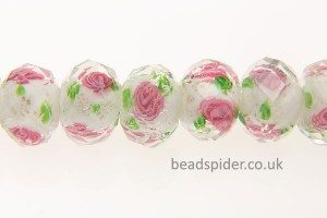 12mm Lampwork Crystal