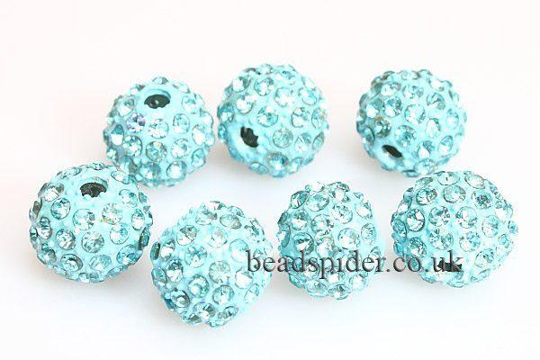 Sky Blue Sparkle Ball