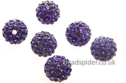 Purple Sparkle Ball