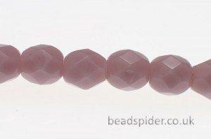 Opaque Lilac Czech Glass