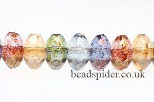 Czech Donut Beads