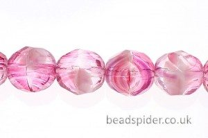 8mm Fire Polished Beads