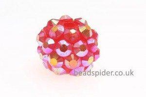 Red AB Disco Ball