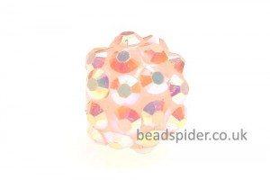 Peach AB Disco Ball