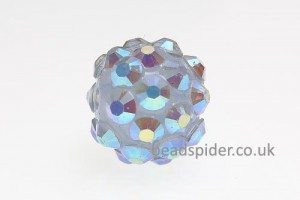 Dusty Blue AB Disco Ball