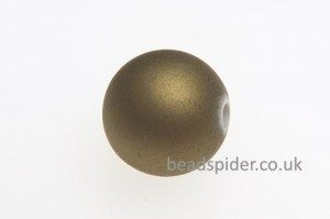 Gold Satin Solaris Bead