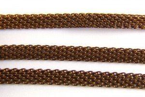 Bronze Woven Chain