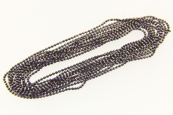 Purple Coloured Shimmer Ball Chain
