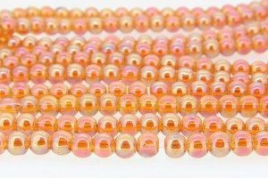 6mm Aurora Crystal Beads