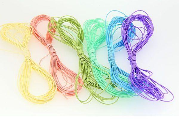 Bulk pack 0.5mm cord 6 colours