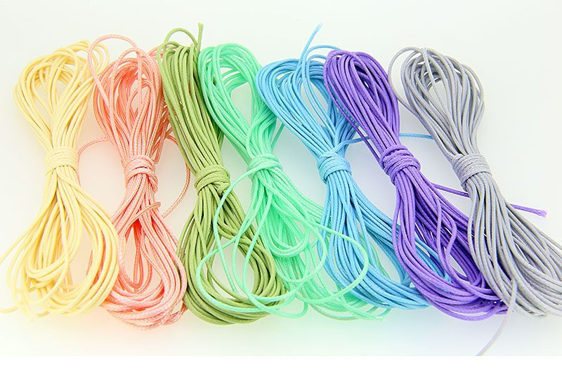 Bulk Pack 1mm Cord Light Colours