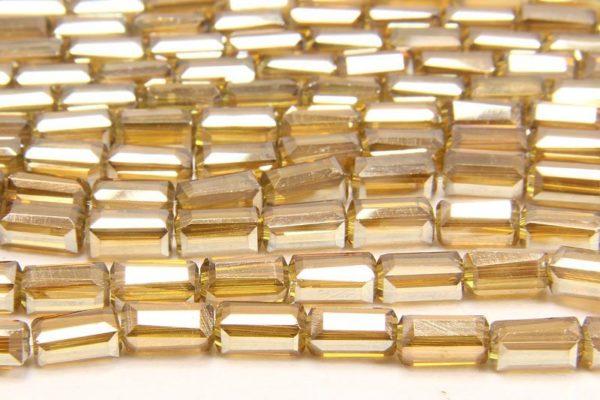 Lustre Gold Crystal Brick