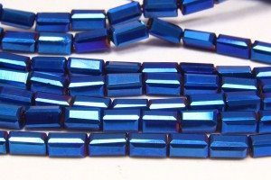 Electric Blue Crystal Brick