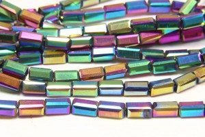Rainbow AB Crystal Brick