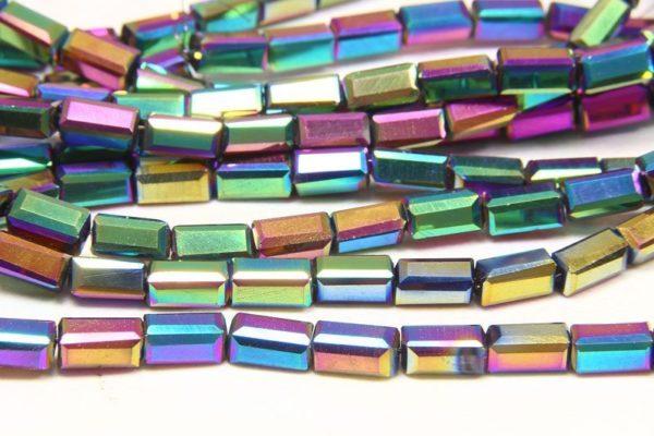 Rainbow AB Crystal Brick
