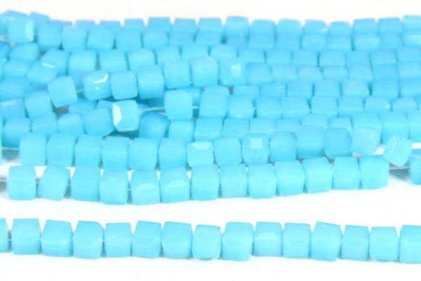 Baby Blue Crystal Cube