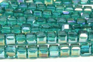 Emerald AB Crystal Cube