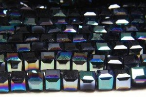 Midnight AB Crystal Cube