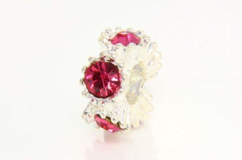 Cherry Quartz Fancy Ring